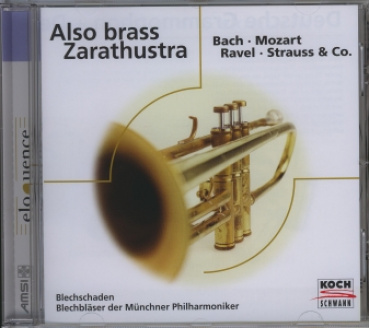 Also brass Zarathustra - CD