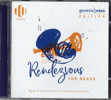 Rendezvous for Brass, genesis brass - CD